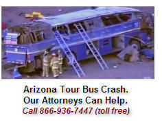 Arizona Tour Bus Crash Accident Attorneys